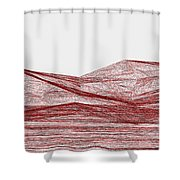 Red.317 Shower Curtain