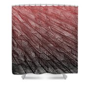 Red.385 Shower Curtain