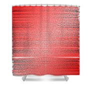 Red.4 Shower Curtain