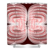 Red.479 Shower Curtain