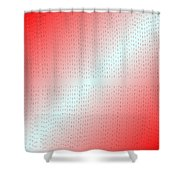 Red.5 Shower Curtain
