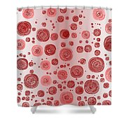 Red.827 Shower Curtain
