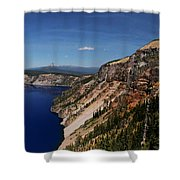 Redcloud Cliff Shower Curtain