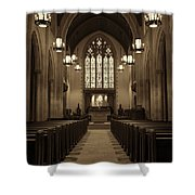 Redemption - Church Of Heavenly Rest #3 Shower Curtain