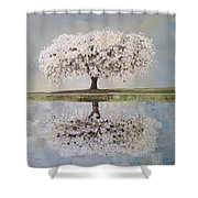 Redemption Season Shower Curtain