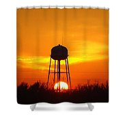 Redneck Water Heater For Whole Town Shower Curtain