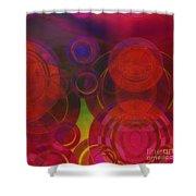 Redroro Shower Curtain