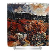Redu Village Belgium Shower Curtain