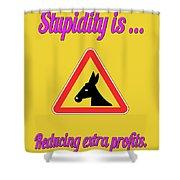 Reducing Bigstock Donkey 171252860 Shower Curtain