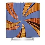 Reeds 2 Shower Curtain
