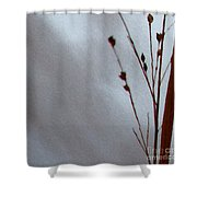 Reeds Lake Shower Curtain