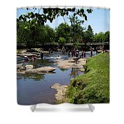 Reedy River Shower Curtain