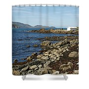 Reef Bay Boathouse Shower Curtain