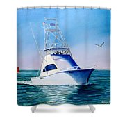Reel Lady Shower Curtain