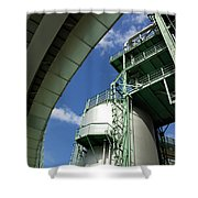 Refinery Detail Shower Curtain