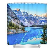 Reflect On Nature Shower Curtain