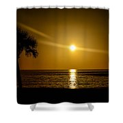 Reflect The Sun Shower Curtain