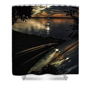 Reflected Beauty  Shower Curtain