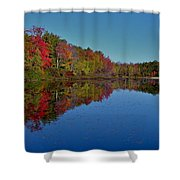 Reflected Color Shower Curtain