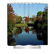 Reflected Elegance Shower Curtain