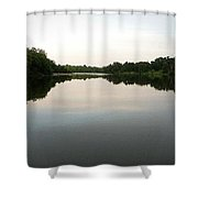 Reflected Shower Curtain