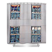 Reflecting Artwork Shower Curtain