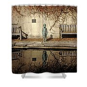 Reflecting Child Shower Curtain