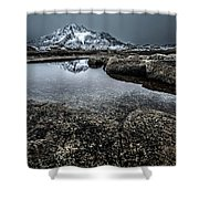 Reflecting Mountain Shower Curtain
