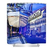 Reflecting On A Kenworth Shower Curtain