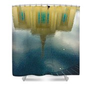 Reflecting On Eternity Shower Curtain