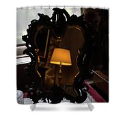 Reflecting On Lamps And Dreams  Shower Curtain