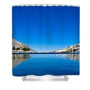 Reflecting On Treasure Lake Shower Curtain