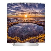 Reflecting Pool Shower Curtain