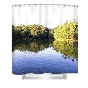 Reflecting Seasons Shower Curtain