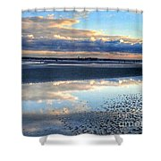 Reflecting Sky  Shower Curtain