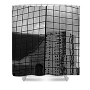 Reflection #8 Shower Curtain