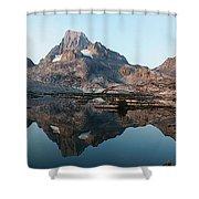 Reflection At Thousand Island Lake Shower Curtain