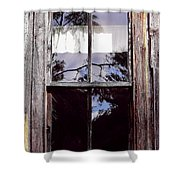 Reflection - In - The - Window  Shower Curtain