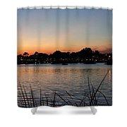 Reflection Lagoon Shower Curtain
