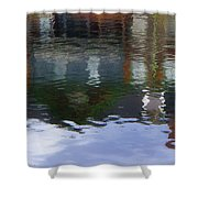 Reflection, No. 1 In Connetquot State Park Shower Curtain
