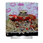 Reflection Of Love Shower Curtain