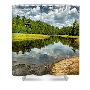 Reflection Of Nature Shower Curtain