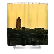 Reflection Of Sunset At North Head Shower Curtain