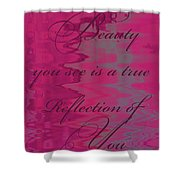 Reflection Of You Shower Curtain