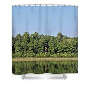 Reflection - On - The - Water Shower Curtain
