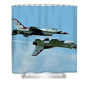 Reflection Pass Shower Curtain