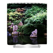 Reflection Pond  Shower Curtain