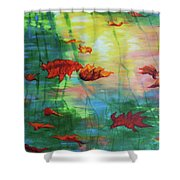 Reflection Relaxing Shower Curtain