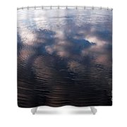 Reflection Ring Shower Curtain