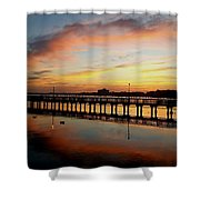 Reflections At Sunrise  Shower Curtain
